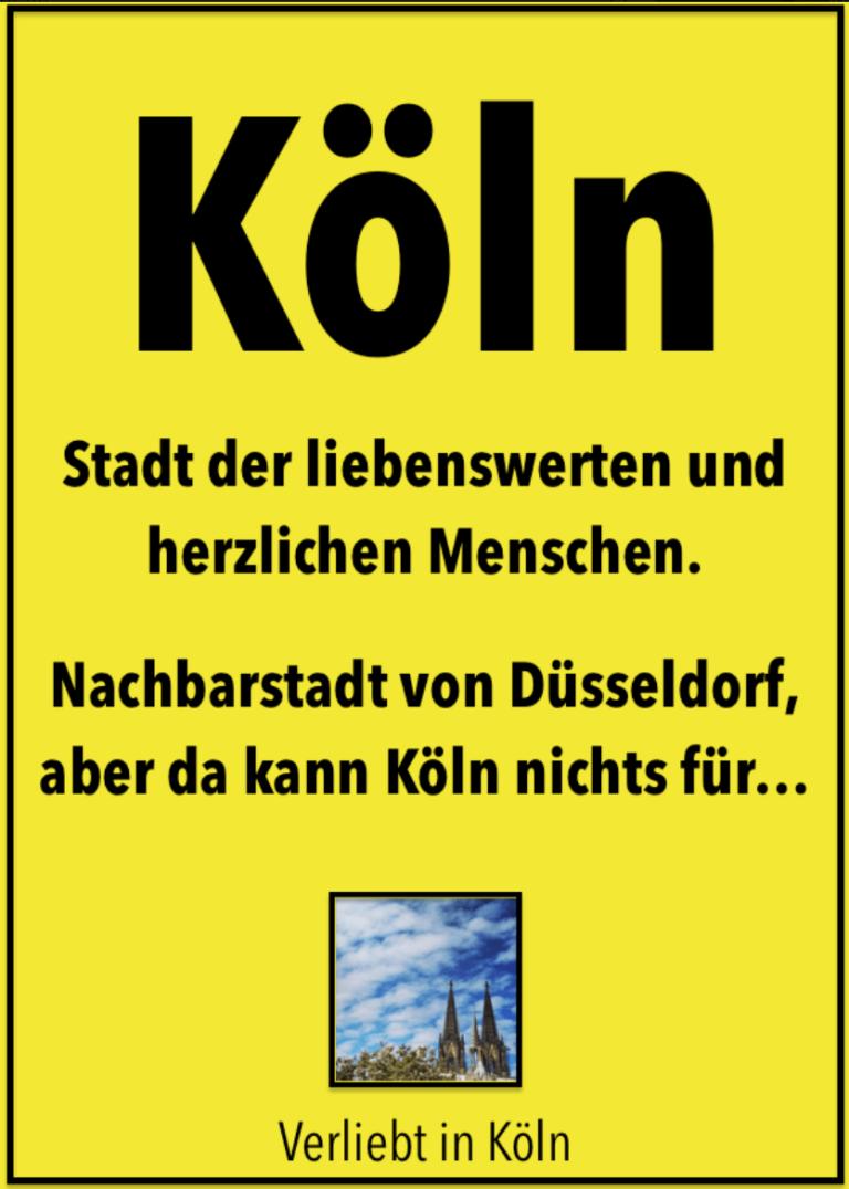 9 Köln-Sprüche, die Dir ein Lächeln aufs Gesicht zaubern