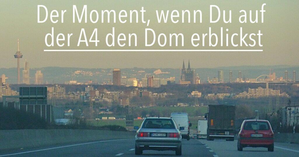 A4 Höhe Frechen bei Köln