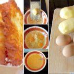 Zutaten für das Kartoffelpuffer Rezept