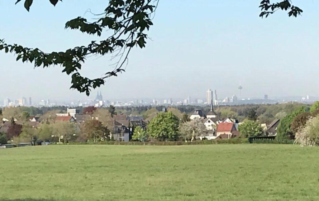 Köln Skyline Bergisch Gladbach