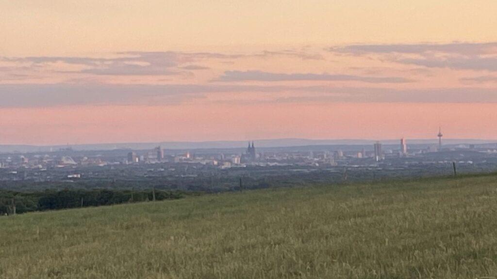 Odenthal Blick auf Köln