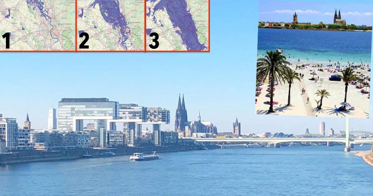 Köln Meeresspiegel